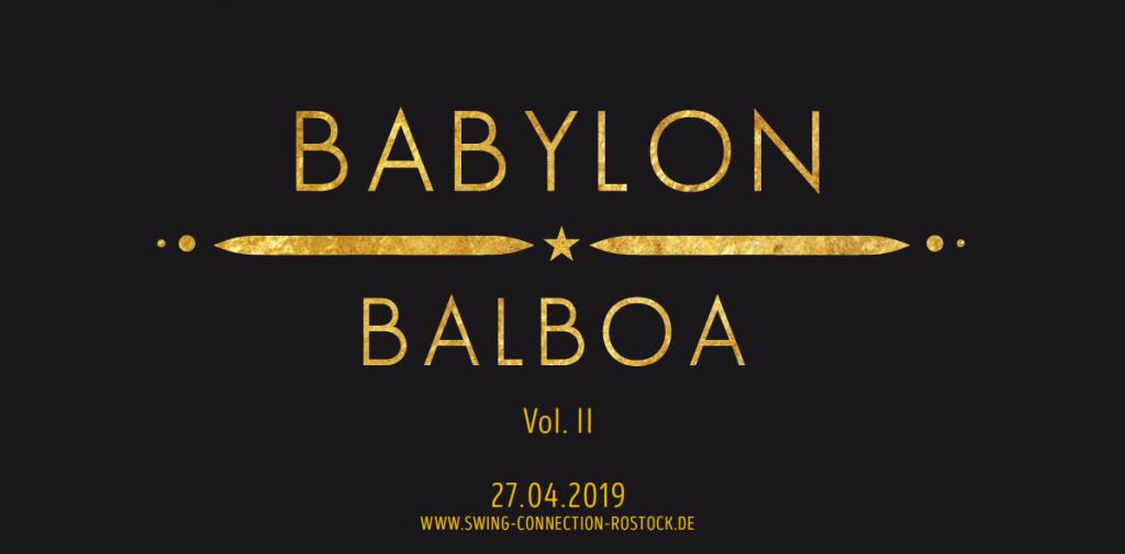Babylon Balboa (Vol. II) | 27. April