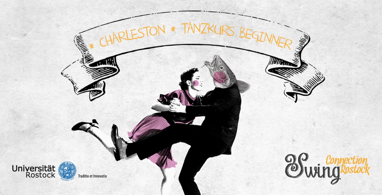 Partner Charleston Tanzkurs *Beginner* Uni | 3. April – 10. Juli 2019
