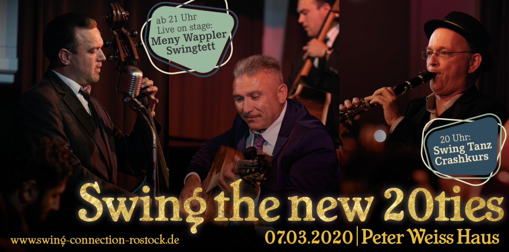 Swing the new 20ties | 07. März 2020